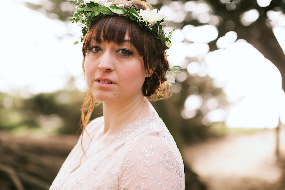 Floral Wreath Bride, intimate wedding photography.jpg
