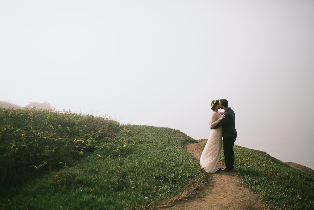Foggy cliff San Franciso Wedding.jpg