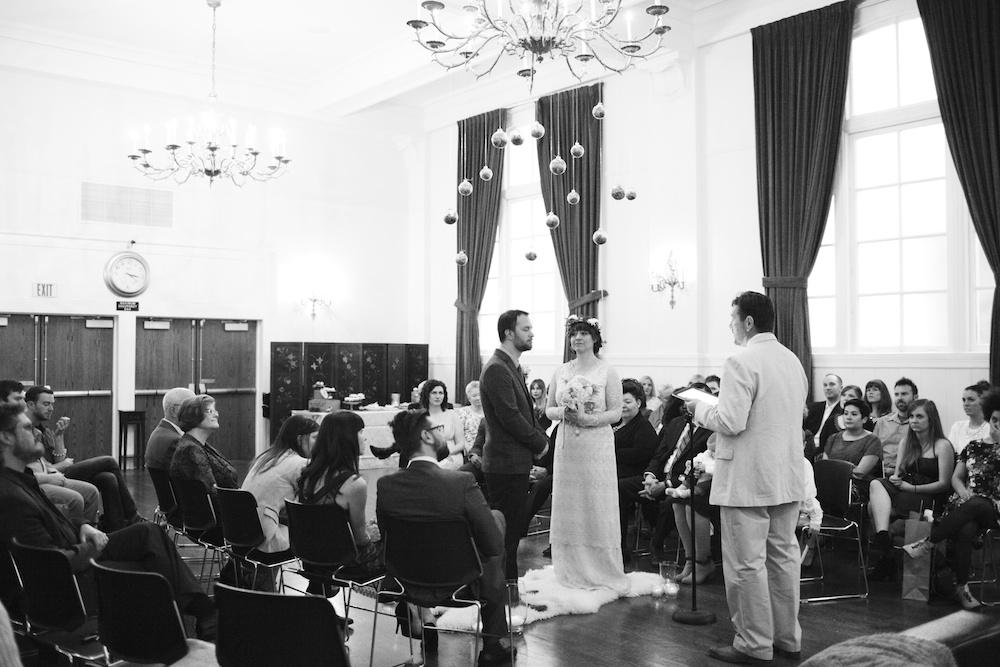 Small Wedding in San Francisco