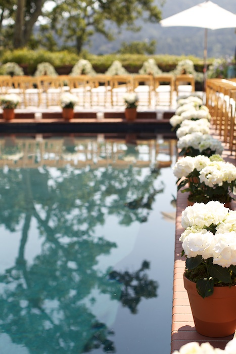 San Francisco Poolside Wedding
