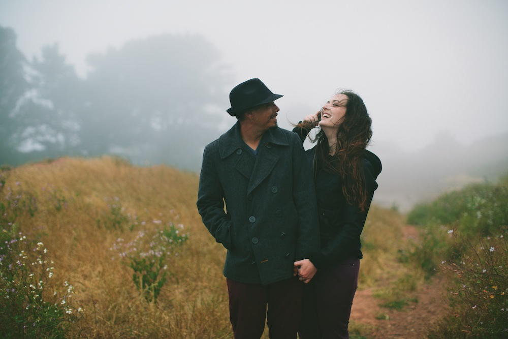 Foggy San Francisco Engagment Photography