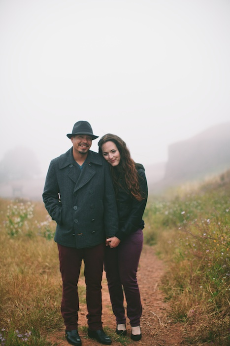 Foggy San Francisco Wedding Photography