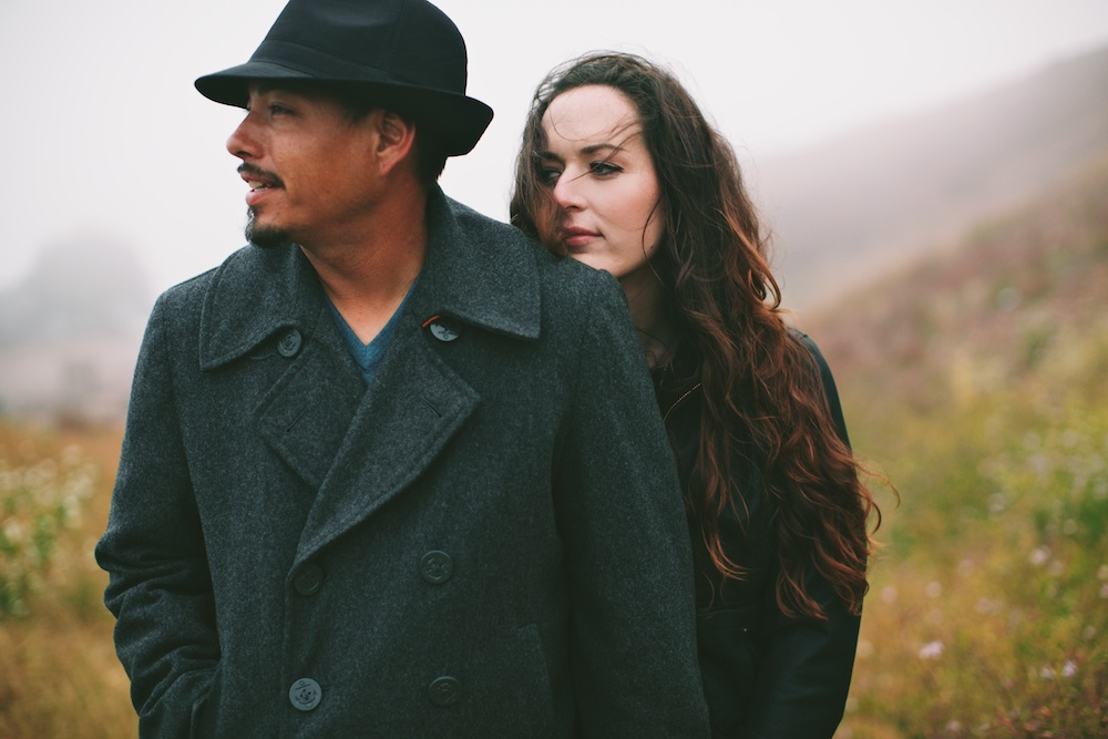 Foggy Bernal Hill Engagement Photography