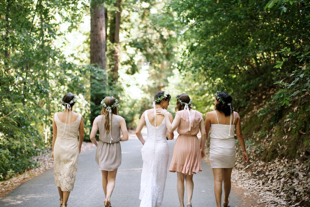 Small Woodland Wedding in Santa Cruz Mountains Redwoods
