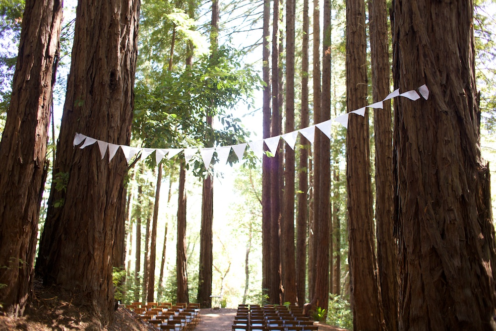 Wedding at Sequoia Retreat Center Santa Cruz Mountains