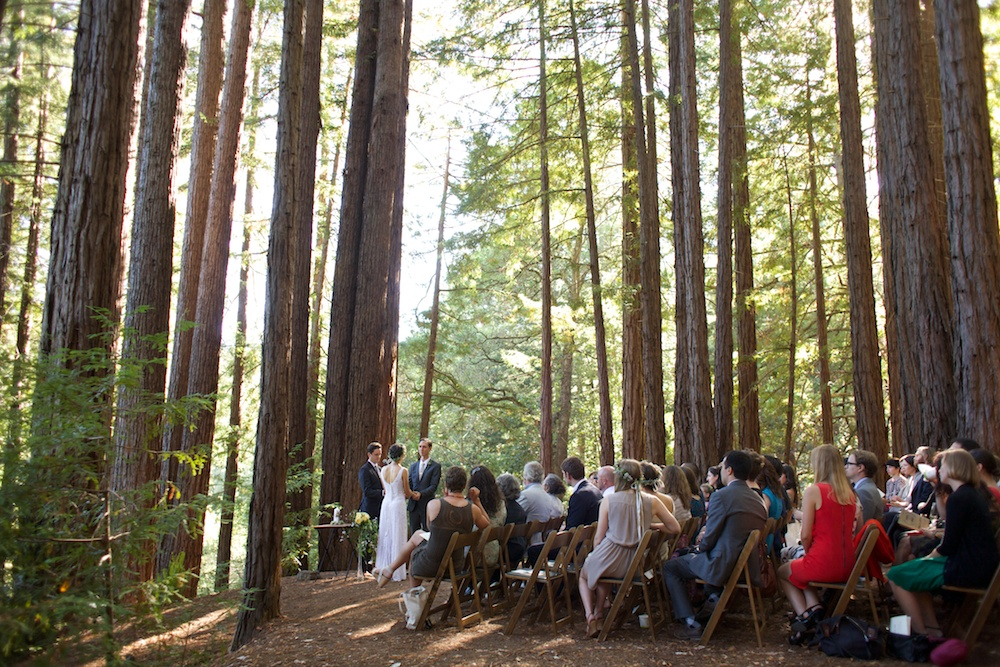 Santa Cruz Sequoia Retreat Center Wedding