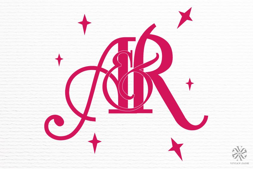 A & R Wedding Monogram / Personal Logo