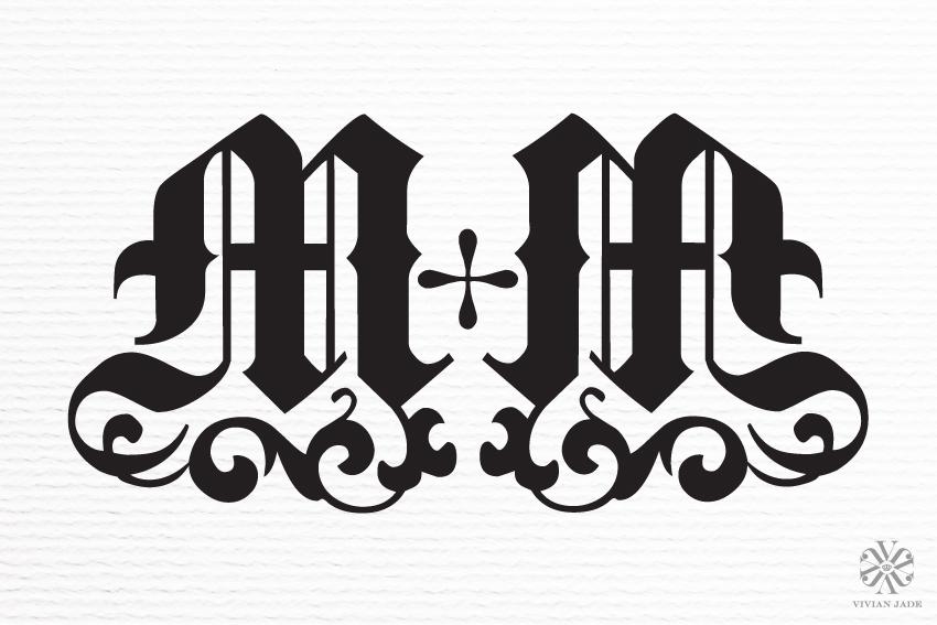 M & M Wedding Monogram / Personal Logo