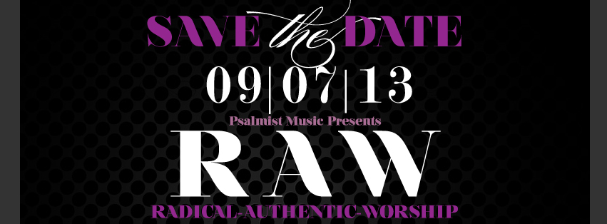RAW Concert Branding - Facebook Banner Design & Campaign
