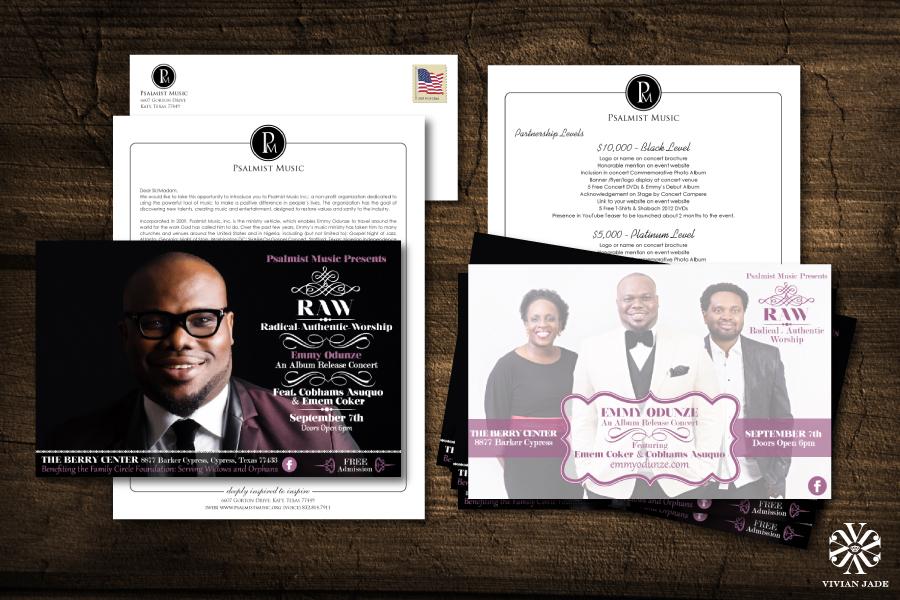 Flier Design, Complete Pre-Event Campaign & Branding by Vivian Jade