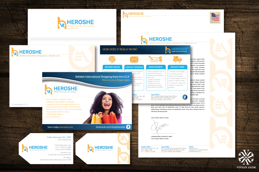 Complete Branding Campaign & Flier Design by Vivian Jade