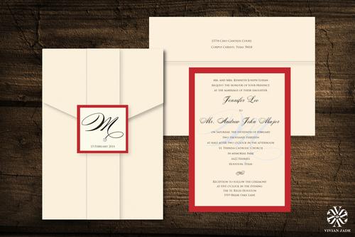 Houston wedding invitations wedding invitations houston save the jennifer amp andrew stopboris Image collections