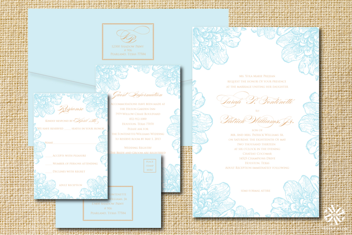 Houston Wedding Invitations . Wedding Invitations Houston . Save the ...