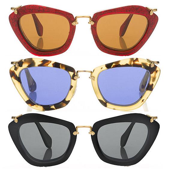 Indique Sunglasses Catwalk — Miu Life Noir E2ID9WH