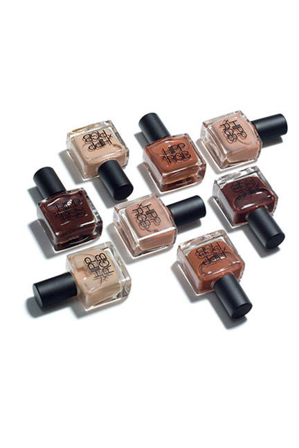 HIPPXRGB Nail Foundations were inspired by make up foundations that top make up artist use.