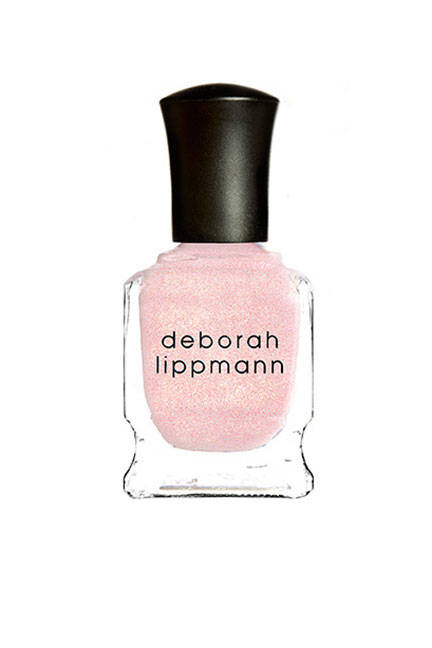 Deborah Lippmann Nail Lacquer in La Vie En Rose will glisten in the sun