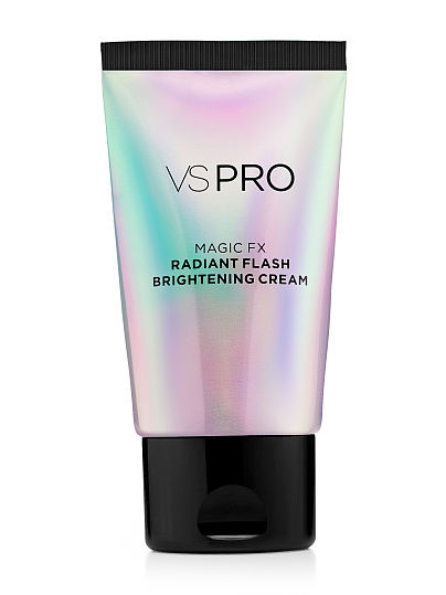 VS Pro Magic FX Radiant Flash Brightening Cream  is available at Victoria's Secret. The pearlescent formula uses greet tea extract for an antioxidant illuminating glow.