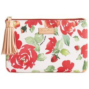 Dooney & Burke Floral Tassel Pouch