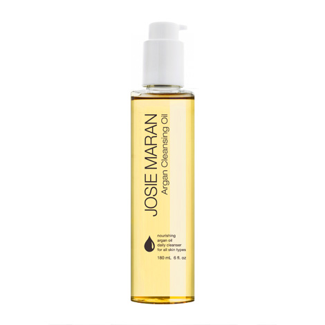 Prep and cleanse your face with Joise Maran Argan Cleansing Oil to remove makeup and impurities with safflower seed and grape seed oils combined.