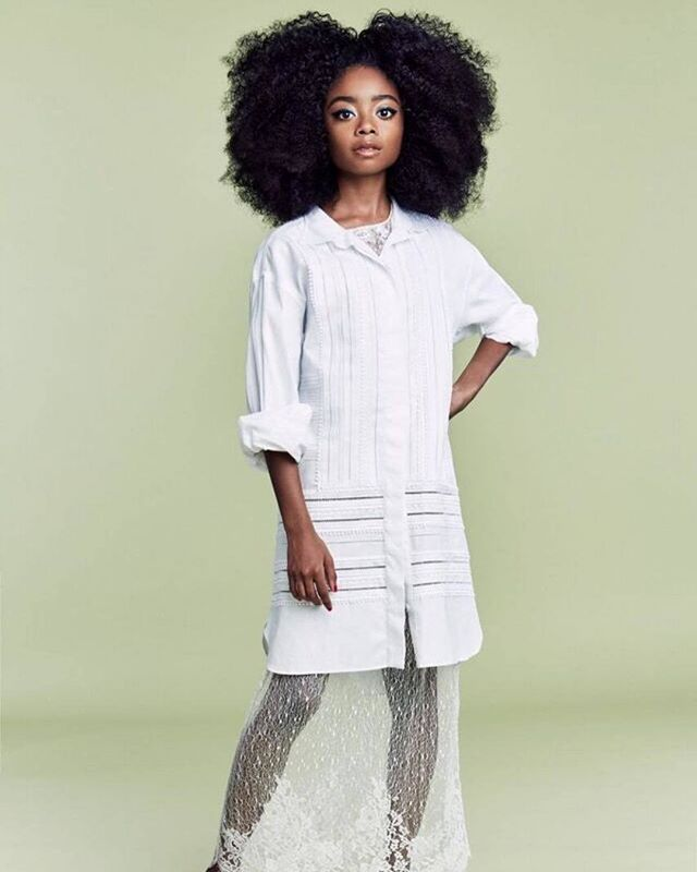 @skaijackson looked great in her #IndiqueHair styled by @tymwallace for @thecut! She is modeling Indique's BOUNCE Organic Curl.  #Indique #IndiqueHair #IndiqueBoutique #OnlineBoutique #StraightHair #HairTips #HairProducts #ProductJunkie