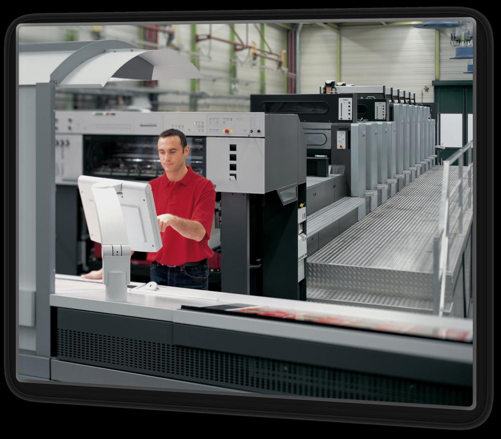 Abbildung: Heidelberger Druckmaschinen AG