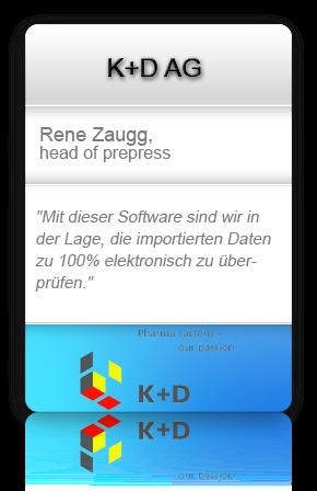 Customer testimonial from K+D AG