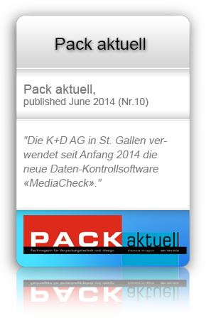 Published in Pack aktuell, June 2014