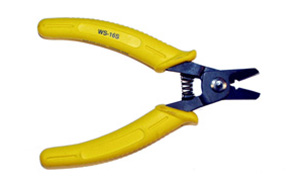 "WS-16S - Multipurpose cutter and wire stripper.  Strip wires from 26 to 16 AWG.  Overall length is 5-1/2""."