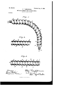 US Patent #630501 Metallic conduit for electric wires 1899