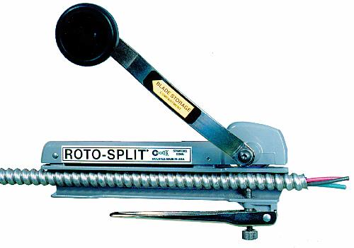 RS-101A ROTOSPLIT TO CUT ALUM