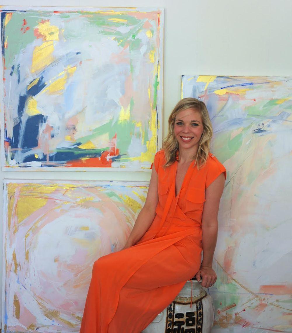 Artist Caroline Swetenburg