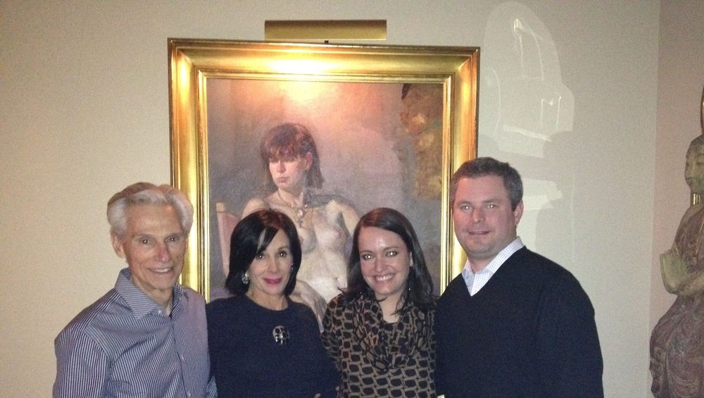 Charles and Yvonne Mendez with Sybil and Bill Godwin