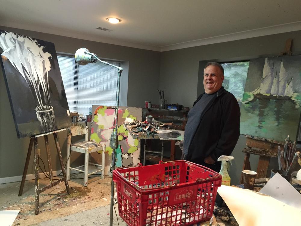 Artist Gary Bodner