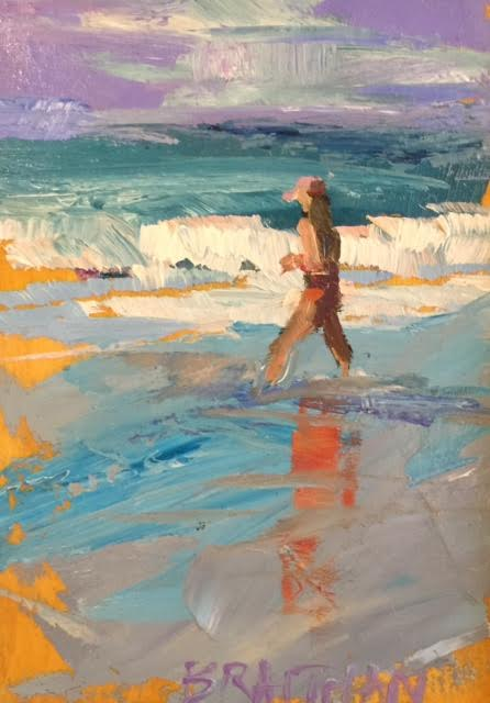 Girl on Beach II 7X5 $250.jpg