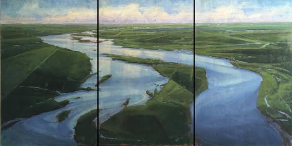 Waterways Triptych