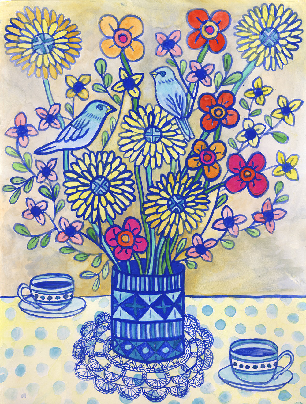 Vase & Coffee