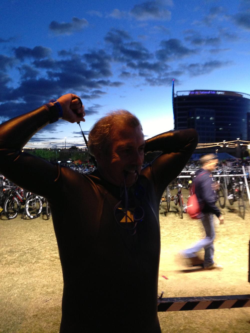 Tim @ IM AZ- pre race