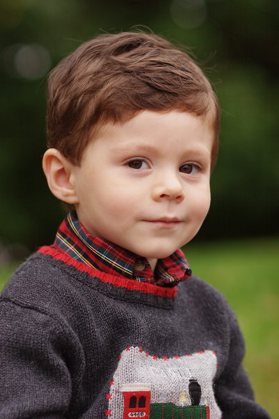 Outdoor Child Headshot, Westchester NY