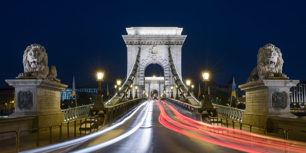 The Tongueless Guardians of the Chain Bridge - Light Trails