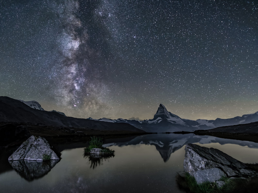 The Milky Way & The Matterhorn