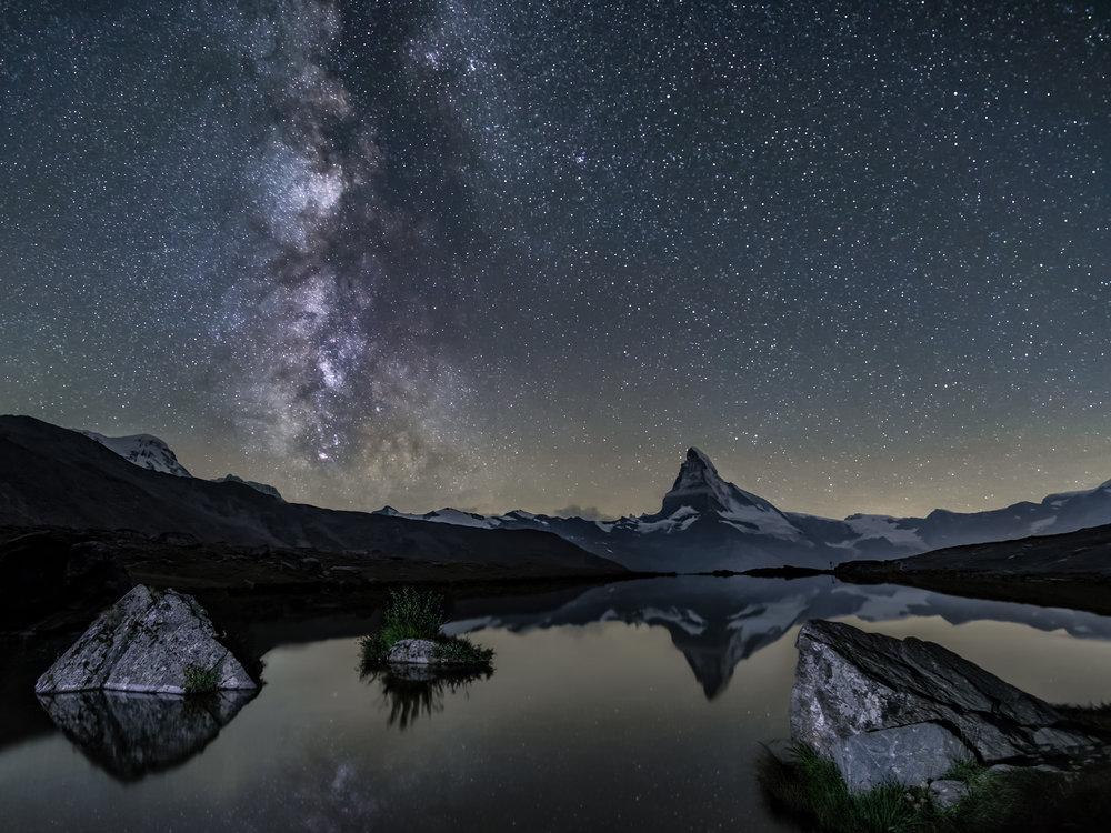 The Milky Way & The Matterhorn
