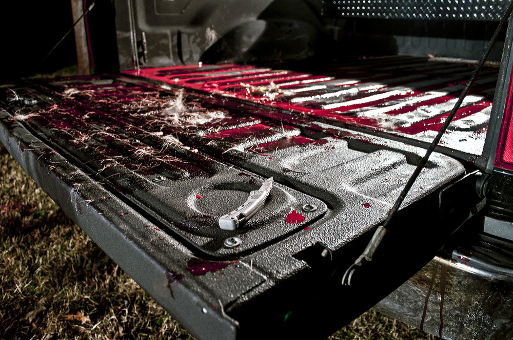 Bloody tailgate