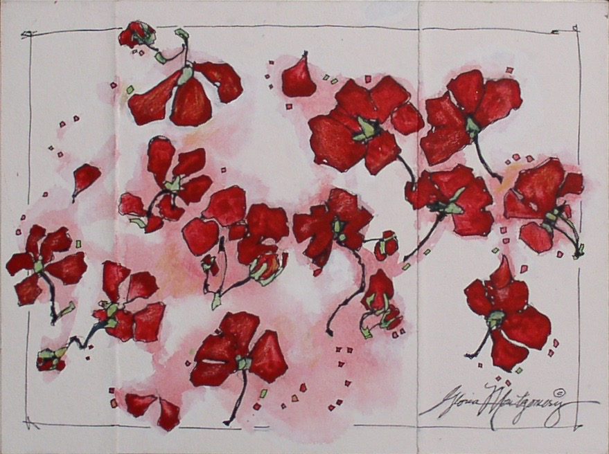 Creating Blossoms   $200.