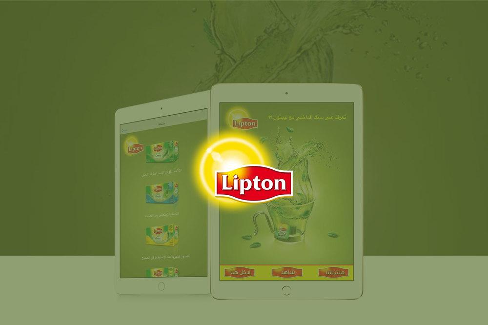 Lipton Ipad App