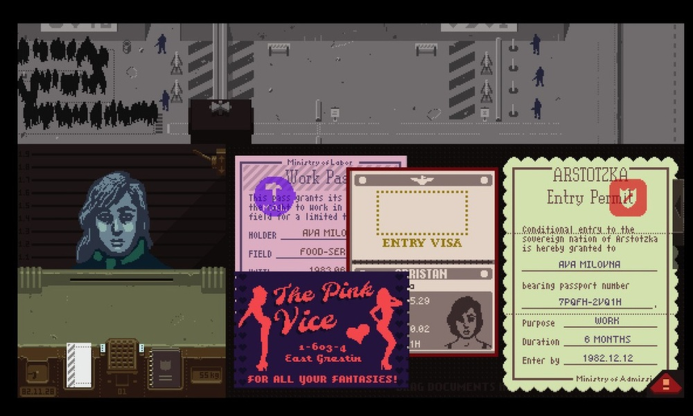 30/10/2014  Papers, Please wins 2014 GameCity Prize