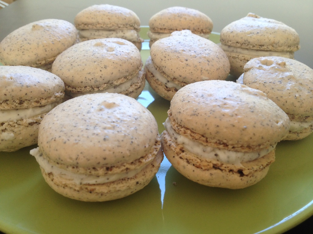 Lady Grey macarons
