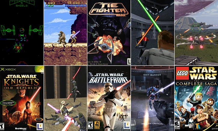 06/11/2015  Star Wars: a short history in video games