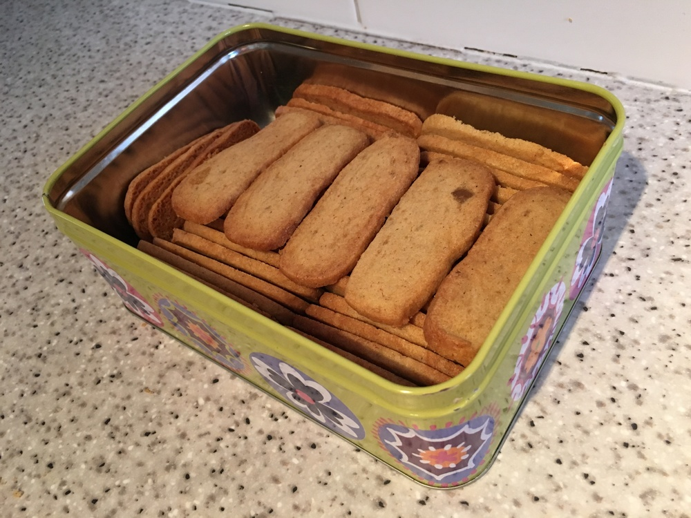 Cardamom ginger crisps