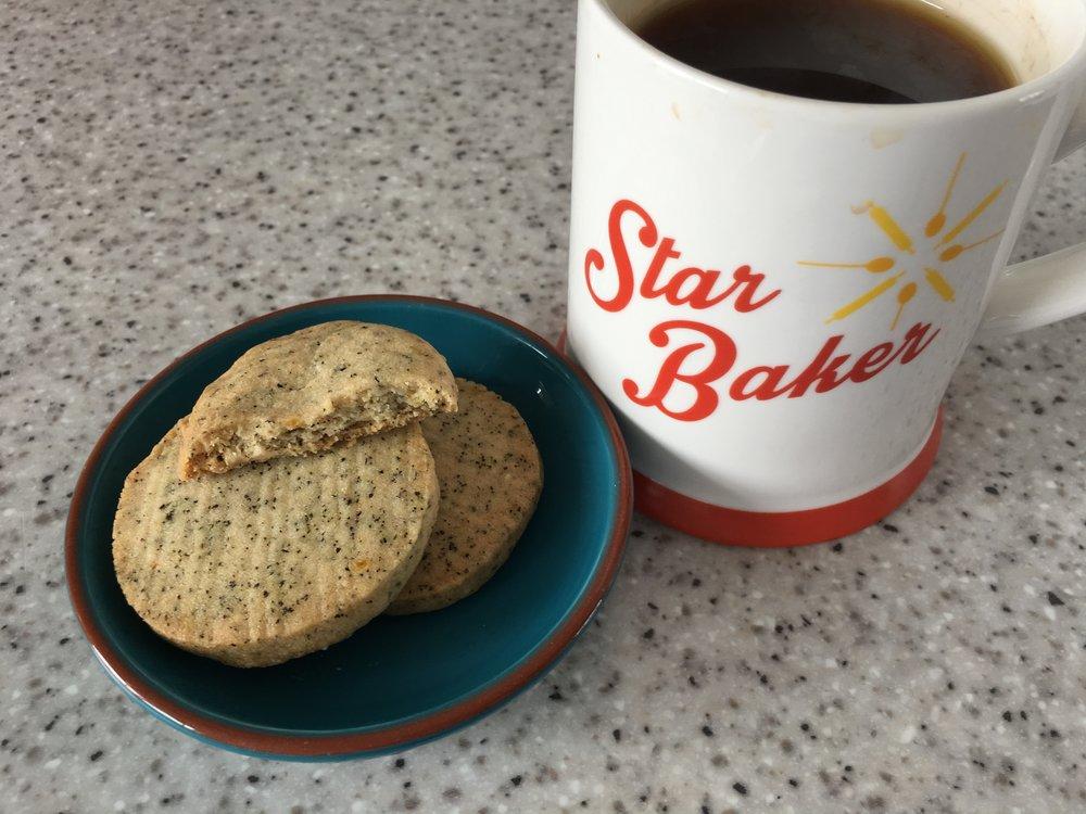 Earl Grey biscuits