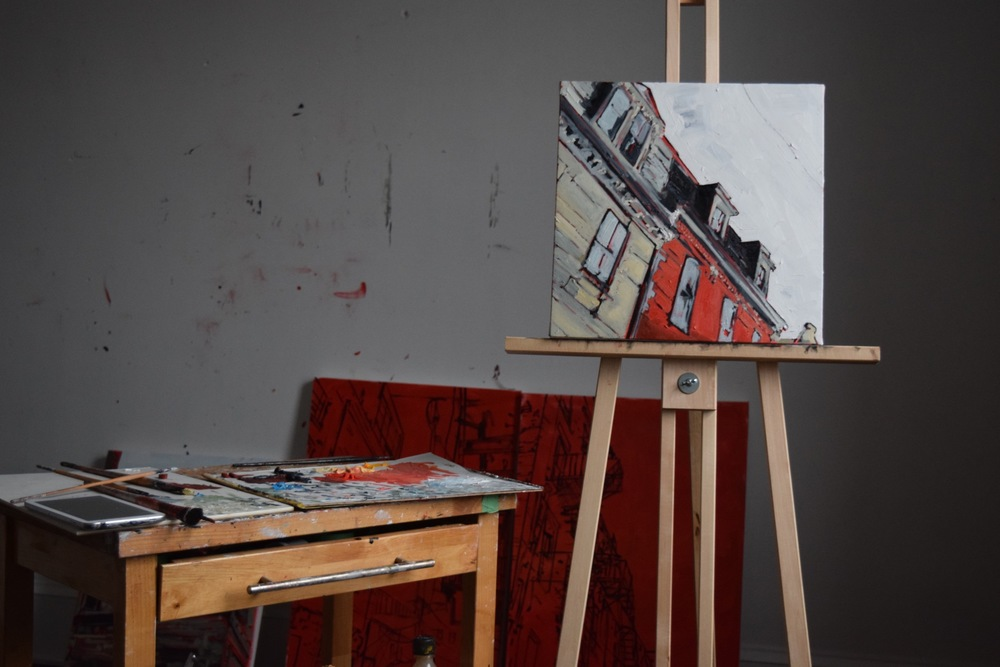 Some work in progress for Argyle Fine Art and an upcoming exhibition in April.